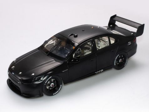 1:18 Authentic Collectables Ford FGX Falcon Plain Body Matte Black