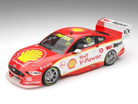 PREORDER 1:43 Authentic Collectibles 2019 Ford Mustang GT #17 Scott McLaughlin Season Car