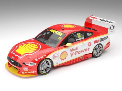 Authentic Collectibles 2019 Ford Mustang GT #17 Scott McLaughlin
