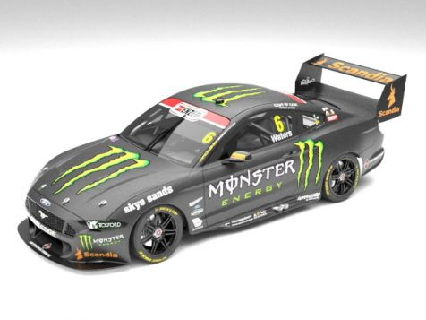 Authentic Collectibles 2019 Ford Mustang GT #5 Lee Holdsworth Season Car