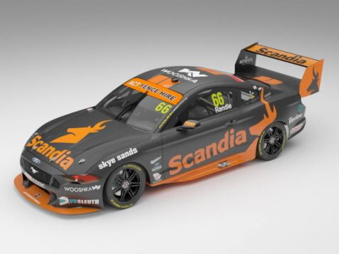 Authentic Collectibles 2019 Ford Mustang GT #55 Chaz Mostert Season Car