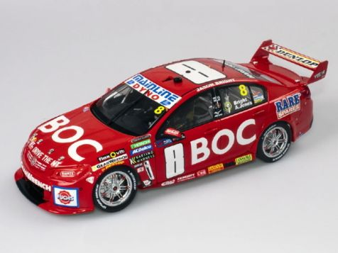 1:18 Authentic Collectibles 2016 Holden VF Commodore #8 Bright/Jones Sandown 500