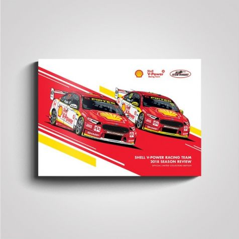 Shell V-Power Racing Team 2018 Season Review Collectors Book