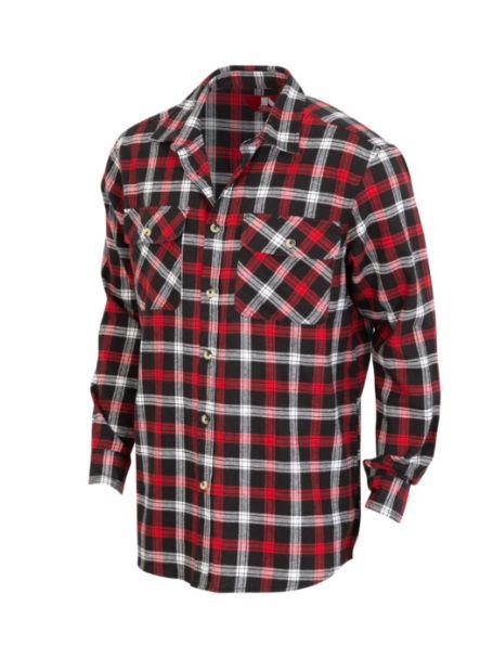 Adventureline Men's Flannelette Shirt - Ferrary Check