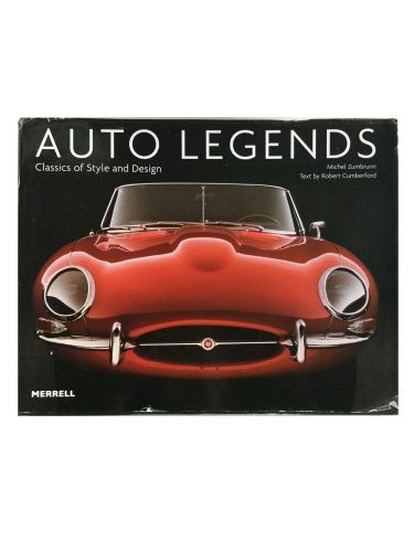 Auto Legends Classics of Style and Design by Robert Cumberford