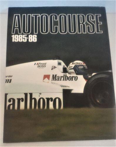 Autocourse 1985-86, Hardcover, ISBN 0 905138 38 4