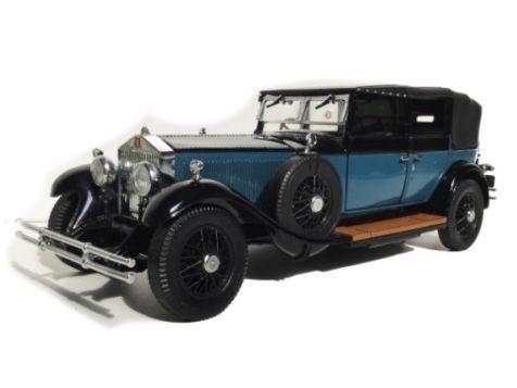 1:24 Franklin Mint 1929 Rolls-Royce Phantom I Cabriolet De Ville