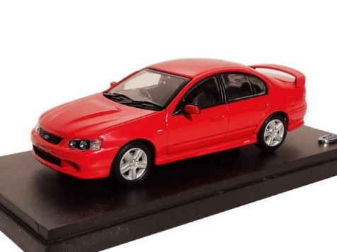 1:43 Biante Ford BA Falcon XR8 in Venom Red