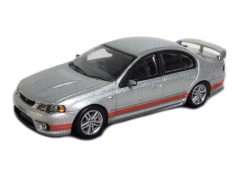 1:64 Biante Ford FPV GT Sedan - Phantom/Orange Stripes
