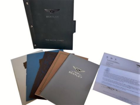 """Bentley """"The Racing Legacy"""" Le Mans Booklets 1927 1928 1929 1930 2003"""