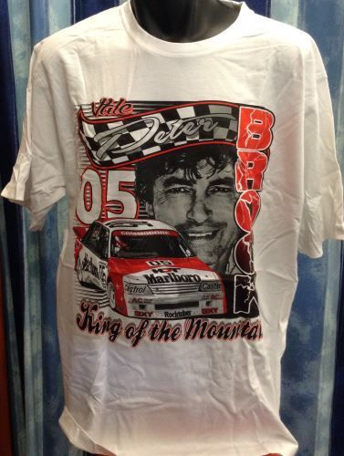 Men's Vale Peter Brock 'King of the Mountain' T-Shirt