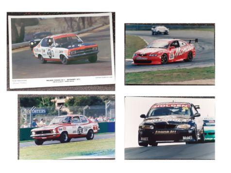 Brocky 4 x Photograph Collection - His 1972 LJ Torana, 1976 LH Torana, 2002 VX Commodore & 2003 CV8 Monaro