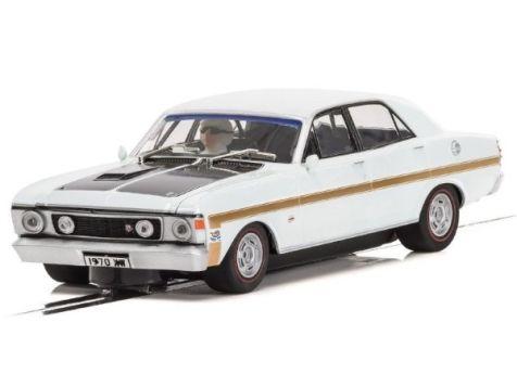 1:32 Scalextric 1970 Ford XW Falcon in Diamond White C3986
