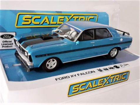 1:32 Scalextric Ford XY Falcon GTHO Phase Phase III Electric Blue C4171