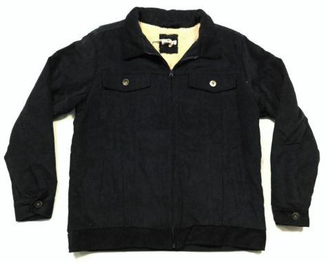Men's Coast Highway Fleece Lined Corduroy Jacket NAVY