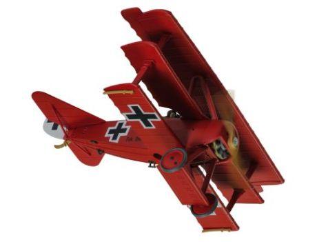 1:48 Corgi Fokker DR.1 Dreidecker 425/17, Manfred von Richthofen - Special Edition
