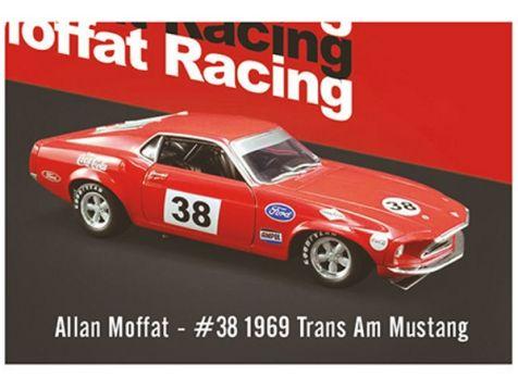 1:64 DDA 1969 U100 Trans-Am Mustang #100 Allan Moffat