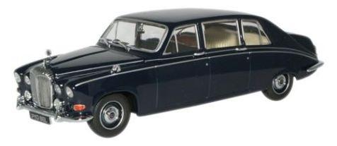 1:43 Oxford Diecast Daimler DS420 Limo in Dark Blue DS005