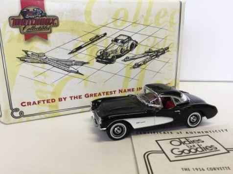 1:43 Matchbox Collectibles 1956 Chevrolet Corvette