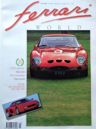 Ferrari World No. 17 - Hyde Park Books Ltd - 1992