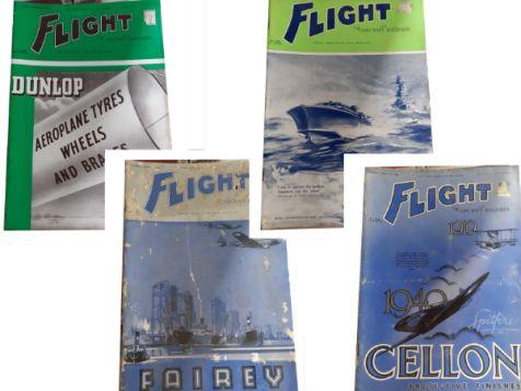 Flight: The Aircraft Engineer Set 10 No. 1631, 1632, 1633 & 1634