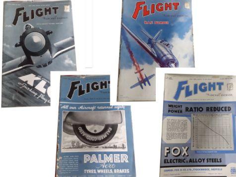 Flight: The Aircraft Engineer Set 11 No. 1635, 1636, 1637 & 1638