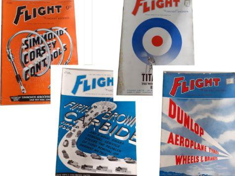 Flight: The Aircraft Engineer Set 12 No. 1639, 1640, 1641 & 1642