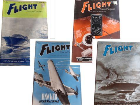 Flight: The Aircraft Engineer Set 13 No. 1643, 1644, 1645 & 1646