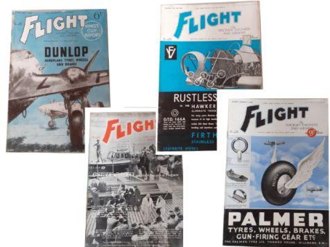 Flight: The Aircraft Engineer & Airships Set 2 No. 1541, 1543, 1544 & 1545