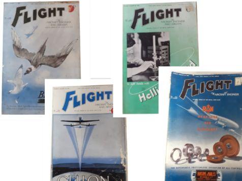 Flight: The Aircraft Engineer & Airships Set 3 No. 1546, 1547, 1548 & 1601