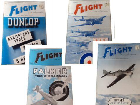 Flight: The Aircraft Engineer & Airships Set 4 No. 1603, 1604, 1605 & 1606