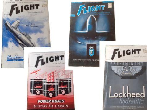 Flight: The Aircraft Engineer & Airships Set 5 No. 1608, 1609 & 1610