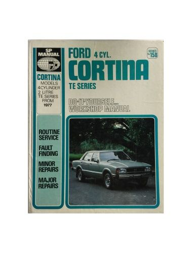 Ford 4 Cyl. Cortina TE Series DIY Workshop Manual