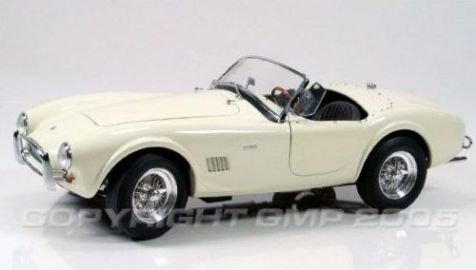 1:12 GMP '64 White 289 Cobra Roadster - Limited Edition of 1000 - G1202603