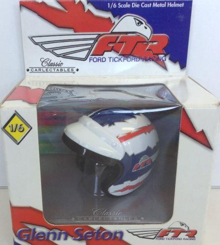 1:6 Classic Carlectables Glenn Seton FTR Helmet 5004