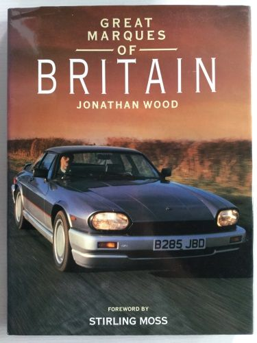 Great Marques of Britain Hardcover Book