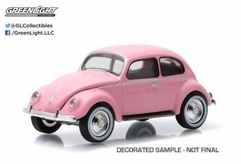 1:64 Greenlight 1949 VW Type 1 Split Window Beetle in Pink 51009