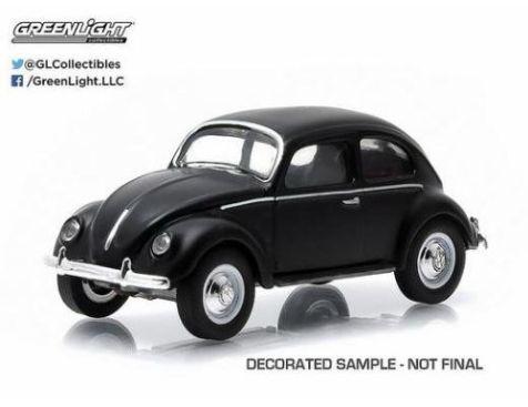 1:64 Greenlight 1952 VW Type 1 Split Window Beetle in Black 51009