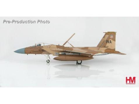 """1:72 Hobby Master Douglas F-15D """"Desert Flanker Scheme"""" 65th Aggressor Sqn., 2012"""
