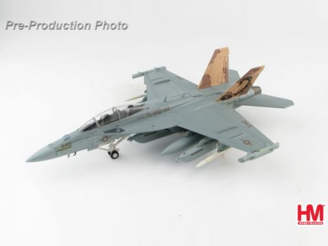 "1:72 Hobby Master EA-18G Growler 166894, VAQ-132 Aviano AB, 2011 ""Operation Odyssey Dawn"""