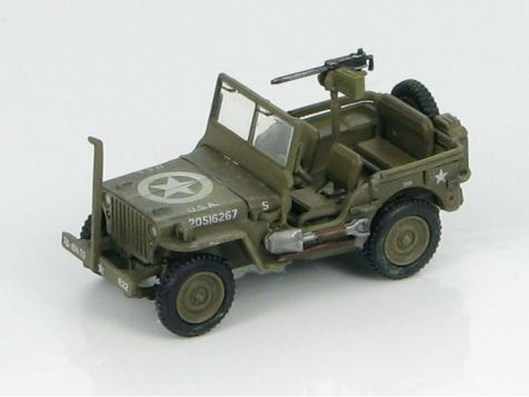 1:72 Hobby Master US Willys Jeep 7th Armored Div., 814th Tank 1945 Belgium