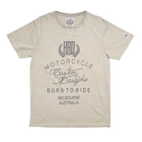 Irving Vincent Men's Donnington Short Sleeve T-shirt in Washed Stone