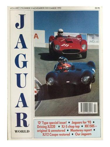 Jaguar World Volume 5 Number 2 November/December 1992