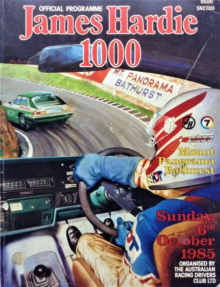 james-hardie-1000-official-programme-sunday-6th-october-1985