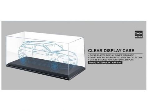 1:18 AT Collections Clear Display Case KC9919