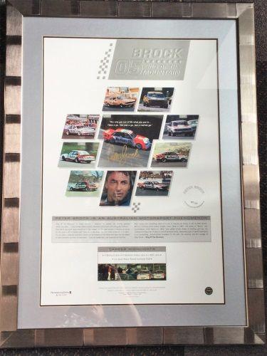 """Brock 05 King of the Mountain"" Legends Genuine Memorabilia Print"