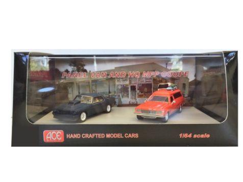 1:64 ACE Night Rider & Holden Panel Van