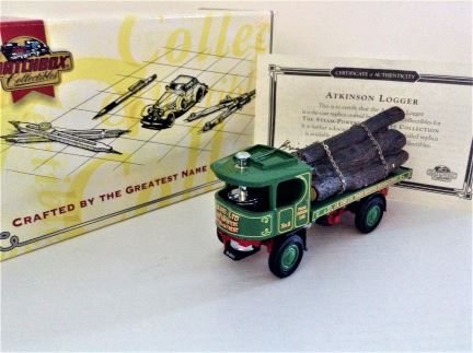 Matchbox - 1918 Atkinson Logger - J.B. Kind  - Item# YAS06