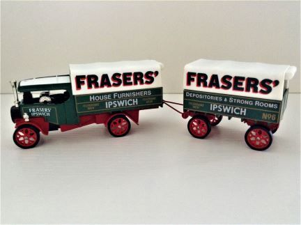 Matchbox - 1922 Foden 'C' Type Steam Wagon and Trailer - Limited Edition - Item# Y-27