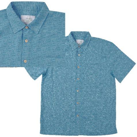 Men's Bamboo Short Sleeve Shirt OXYGEN